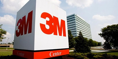 3M sign on campus